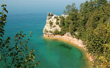 Miner's Castle, Pictured Rocks, Munising Attractions